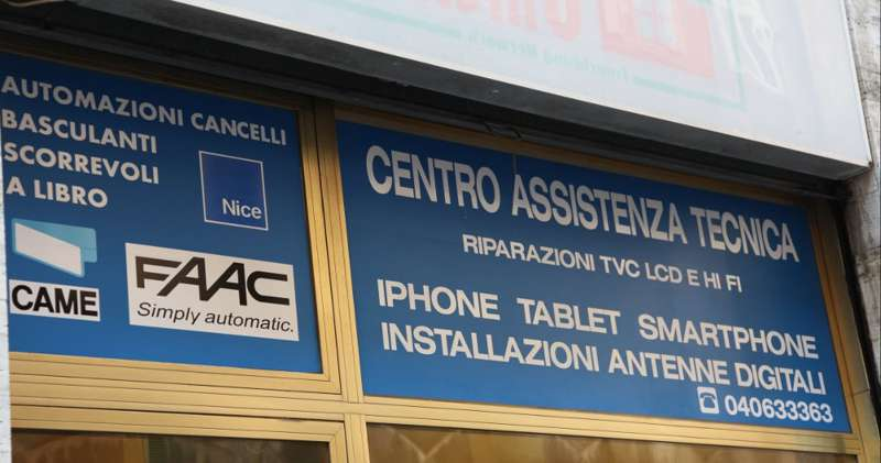 Centro Assistenza Came.Automazioni Cancelli Elettronic Center Trieste Paginesi