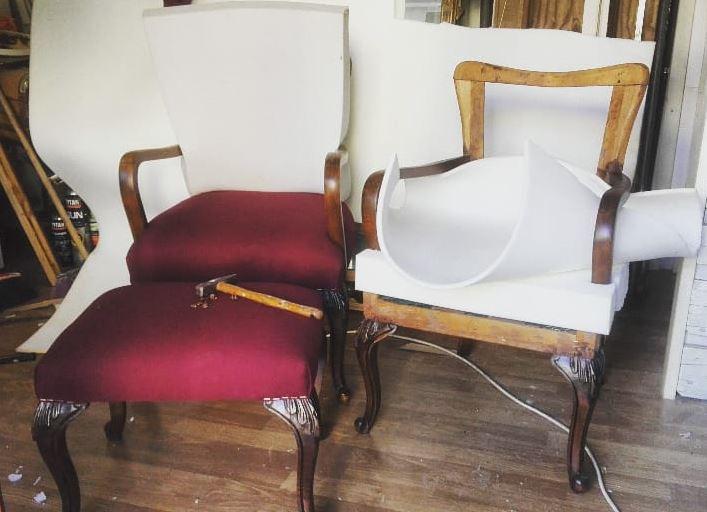 Hobby old restauro mobili antichi rattamento antitarlo for Arredamento con pedane