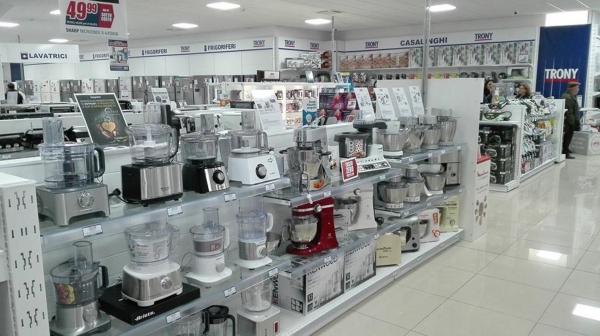 Arredamento negozi food e no food noleggio vendita e for Negozi arredamento cosenza