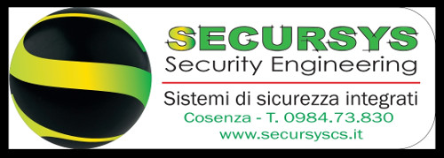 SISTEMI DI SICUREZZA SECURSYS SECURITY ENGINEERING