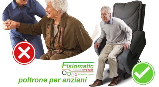 Poltrone per anziani fisiomatic relax system paginesi!