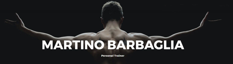 PERSONAL TRAINER BARBAGLIA MARTINO - 1
